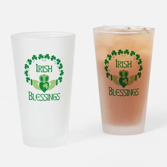 IRISH BLESSINGS Drinking Glass