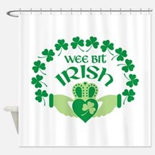 WEE BIT IRISH Shower Curtain