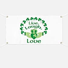 Live, Laugh, Love Banner