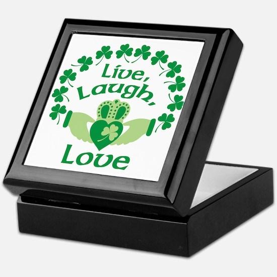 Live, Laugh, Love Keepsake Box