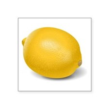 Yellow Lemon Sticker