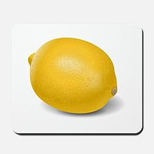 Yellow Lemon Mousepad