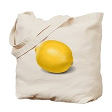 Yellow Lemon Tote Bag