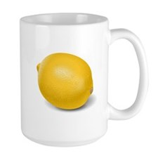 Yellow Lemon Mugs