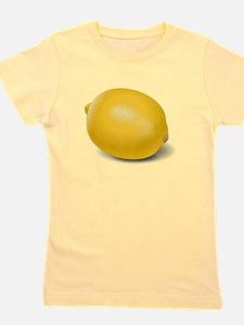 Yellow Lemon Girl's Tee