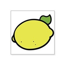 Lemon Drawing Sticker