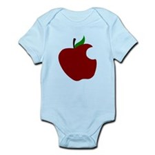 Apple With Bite Body Suit