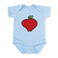 Cartoon Apple Body Suit