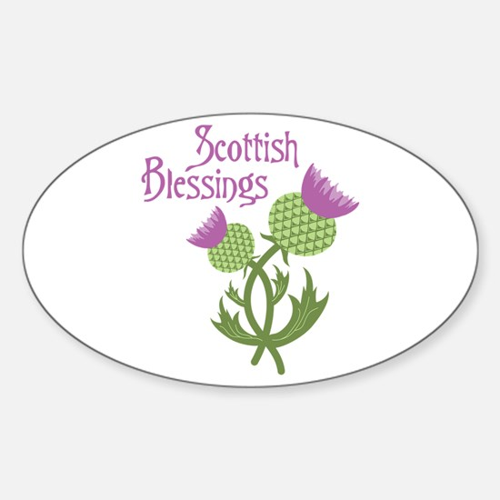 Scottish Blessings Decal