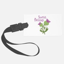 Scottish Blessings Luggage Tag