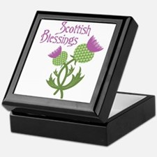 Scottish Blessings Keepsake Box