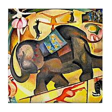 Alice Bailly - The Elephant Tile Coaster