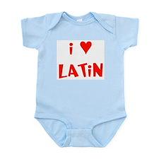 I heart Latin Infant Creeper