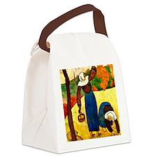 Emile Bernard - Breton Peasants Canvas Lunch Bag