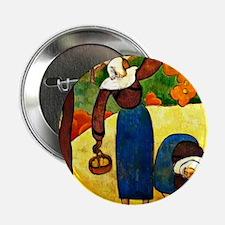"Emile Bernard - Breton Peasants 2.25"" Button"