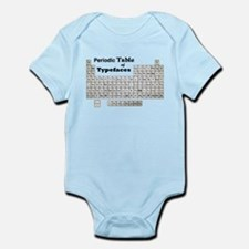 Periodic Table of Typography Body Suit