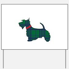 Scottish Terrier Dog Yard Sign