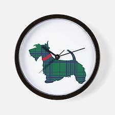 Scottish Terrier Dog Wall Clock