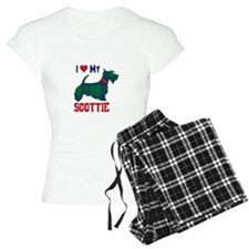 I LOVE MY SCOTTIE Pajamas