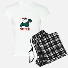 I LOVE MY SCOTTIE Pajamas