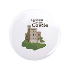 """Queen OF THE Castle 3.5"""" Button (100 pack)"""