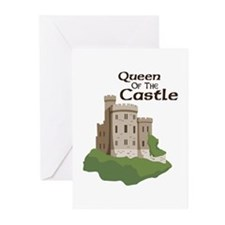 Queen OF THE Castle Greeting Cards