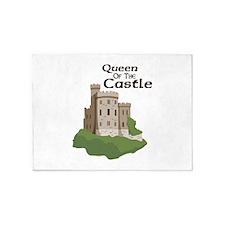 Queen OF THE Castle 5'x7'Area Rug