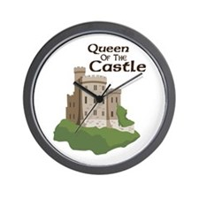 Queen OF THE Castle Wall Clock