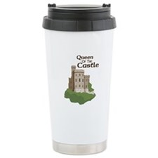 Queen OF THE Castle Travel Mug