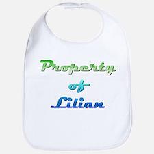 Property Of Lilian Female Baby Bib