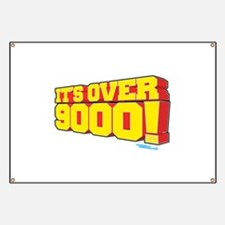 It's Over 9000! Banner