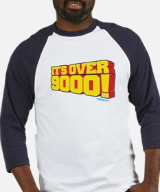 It's Over 9000! Baseball Jersey