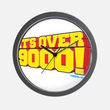It's Over 9000! Wall Clock