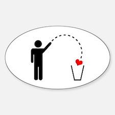 Throw Away Heart Decal