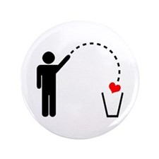 Throw Away Heart 3.5&Quot; Button