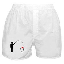 Throw Away Heart Boxer Shorts