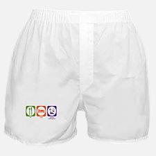 Eat Sleep German Board Games Boxer Shorts