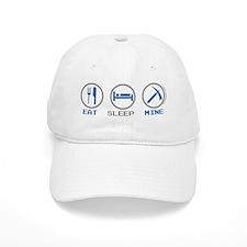 Eat Sleep Mine Baseball Cap