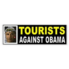 OBAMA TOURISTS BUMPER_001 Bumper Bumper Sticker