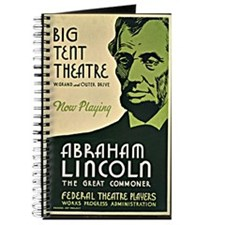 Vintage - Abraham Lincoln, the Great Commo Journal