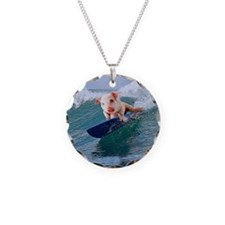 Surfing hot pig Necklace