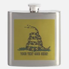 Personalized Dont Tread on Me Flask