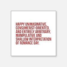 Anti Valentines Day Sticker