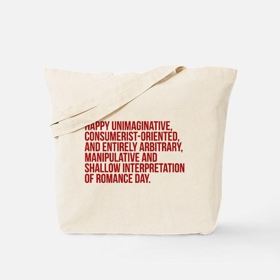 Anti Valentines Day Tote Bag