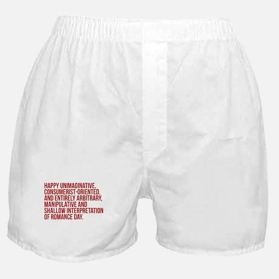 Anti Valentines Day Boxer Shorts