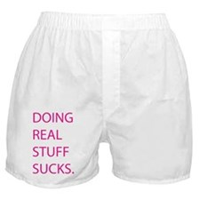 REAL STUFF - pink Boxer Shorts