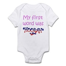 Cute First words Infant Bodysuit