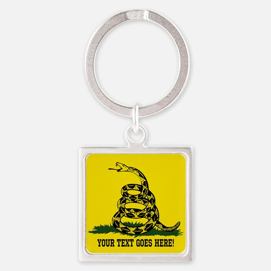Personalized Dont Tread on Me Keychains