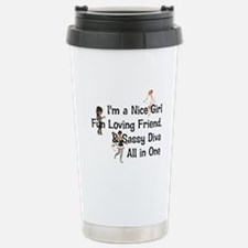 Fun Girl Triple Play Travel Mug