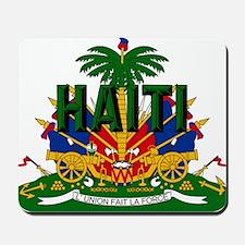 Haitian Coat of Arms Mousepad
